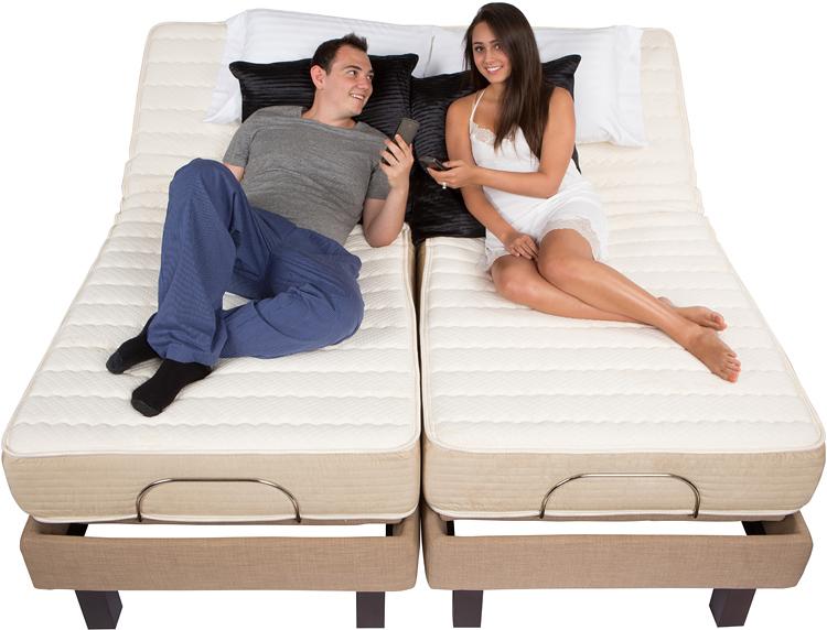 Latex Electric Adjule Bed Mattresses
