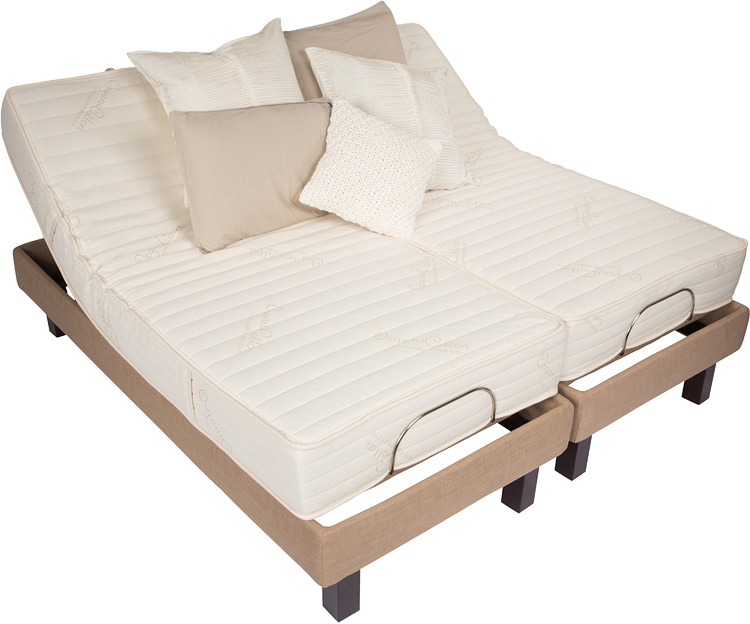 DUAL KING Electric Adjustable Bed