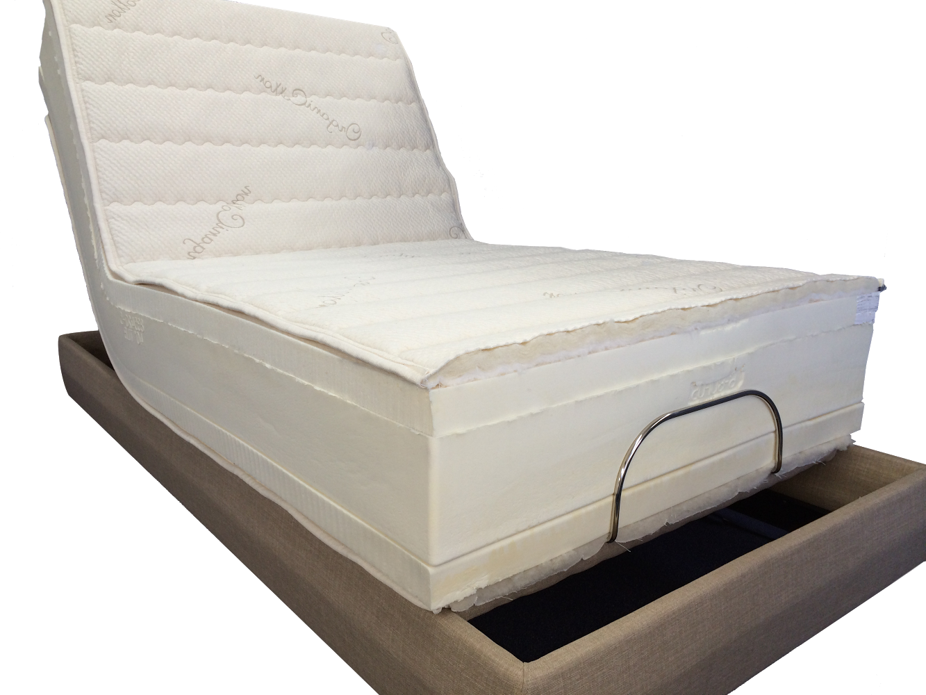 Twin Regular THE ULTIMATE Electric Adjustable Bed Latex Mattress Twinsize